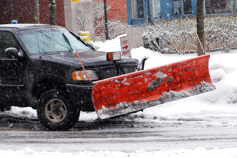 snow plowing removal dupage