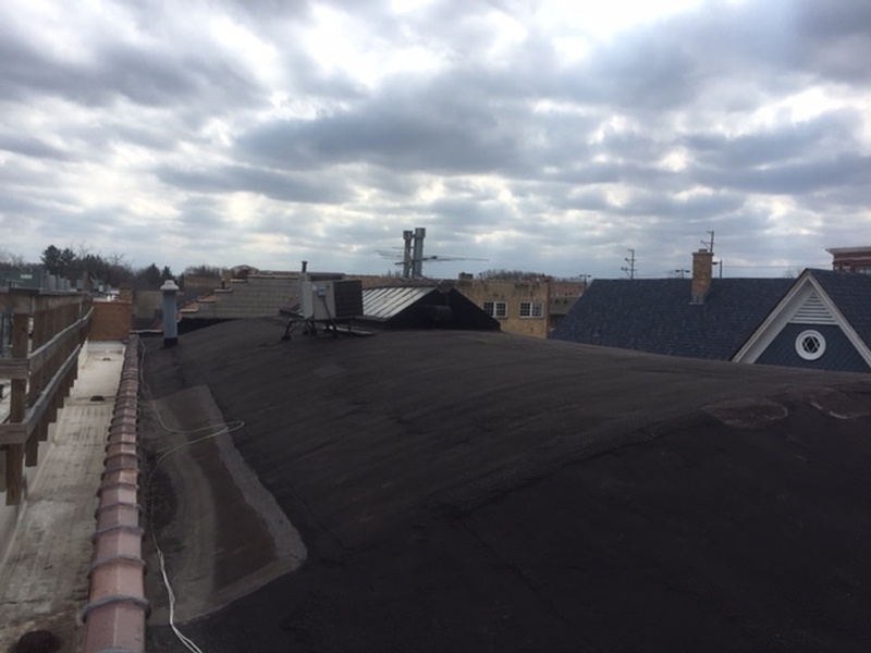 torch down granulated roof